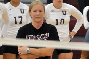 Melissa DeRan is the 12th head coach in Bates volleyball history. Photo courtesy of UNION COLLEGE SPORTS INFORMATION