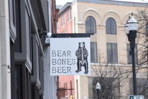 Bear Bones Beer will open Thursday on Lisbon St. JOHN NEUFELD/THE BATES STUDENT