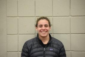 Junior Sarah Daher won six All-American awards at Nationals.  (John Neufeld/The Bates Student)