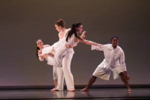 Dancers rely on each other in each performance. DREW PERLMUTTER/THE BATES STUDENT