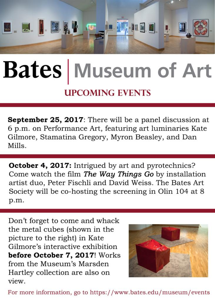 Ad for bates museum of art