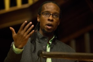 Ibram X. Kendi delivers speech on how to be an anti-racist PHYLLIS GRABER JENSEN/BATES COLLEGE